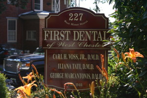Contact Us at our Office in First Dental of West Chester PA